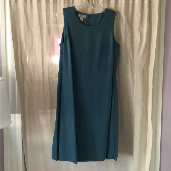 Tommy Bahama Dresses & Skirts - Smoky Teal Tommy Bahama Silk Dress